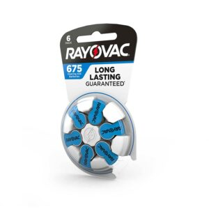 Rayovac Proline Batteries Size 675A (6 pack)